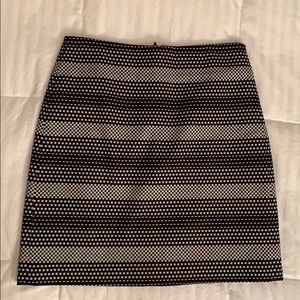 Checkered LOFT skirt 00/XS